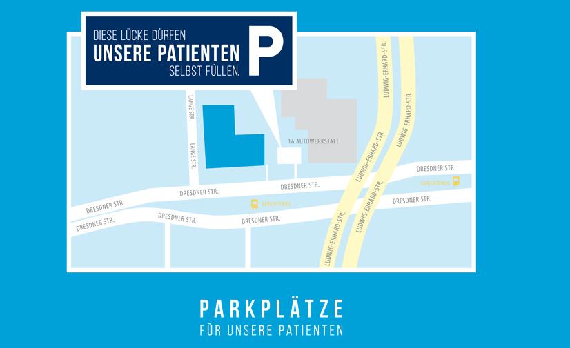Parkplätze Gregor Zahnarzt